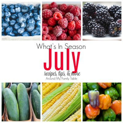What's in Season July