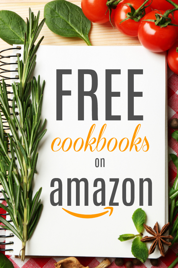 Check out these free Kindle cookbooks that are available for download on Amazon. Love a free cookbook!