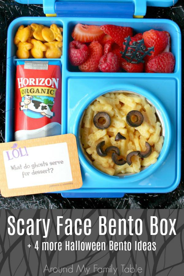 Scary Face Bento Box