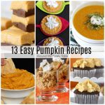 Easy Pumpkin Recipes