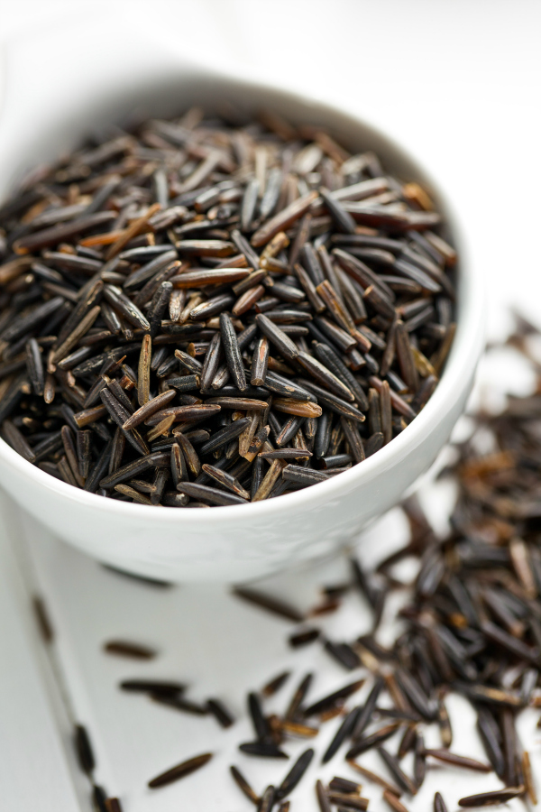 How to perfectly cook wild rice in a slow cooker, pressure cooker, instant pot, or on the stove top.