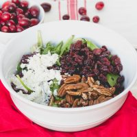 Cranberry Pecan & Goat Cheese Salad