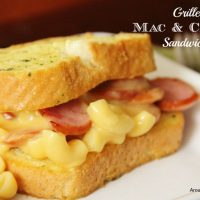 Grilled Macaroni & Cheese Sandwiches