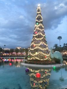 Christmas Tree at Hollywood Studios