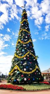 Christmas Tree at Epcot