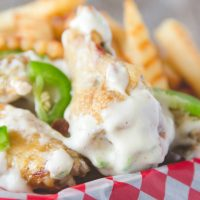 Jalapeno Popper Chicken Wings