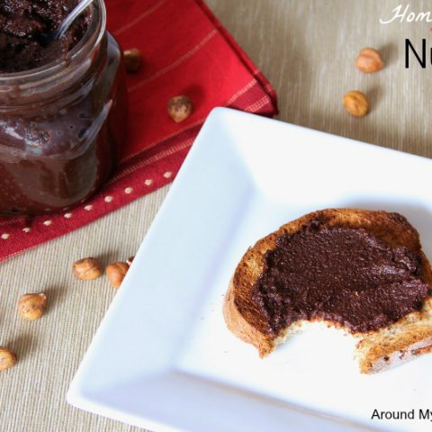Homemade Dairy Free Hazelnut Spread (Nutella)
