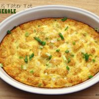 Sausage & Tater Tot Breakfast Casserole