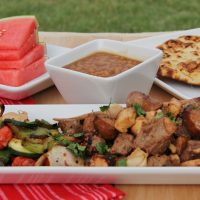 Summer Marinated Mixed Grill