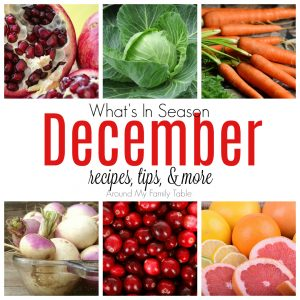 December — What's in Season