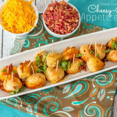 Gluten Free Cheesy Bacon Appetizers