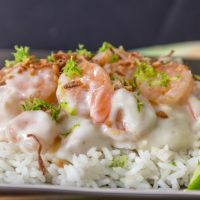 Creamy Coconut Shrimp