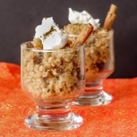 Pumpkin Rice Pudding (slow cooker rice pudding)