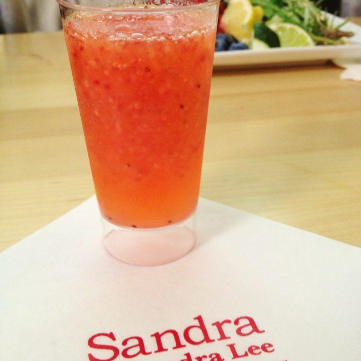Sandra Lee's Strawberry Daiquiri
