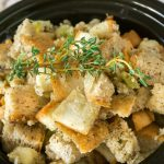 Slow Cooker Christmas Stuffing
