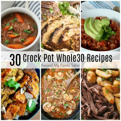 One Month of Whole30 Slow Cooker Recipes