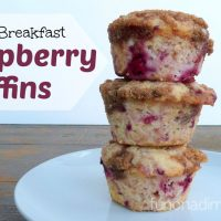 Bed and Breakfast Raspberry Muffins