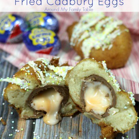Fried Cadbury Eggs