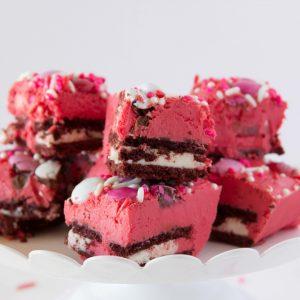 Red Velvet Fudge