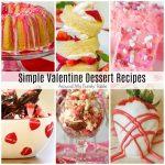 Simple Valentine Dessert Recipes