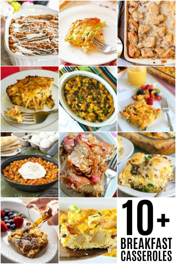 10+ Delicious Breakfast Casseroles that will make weekend breakfasts easy!