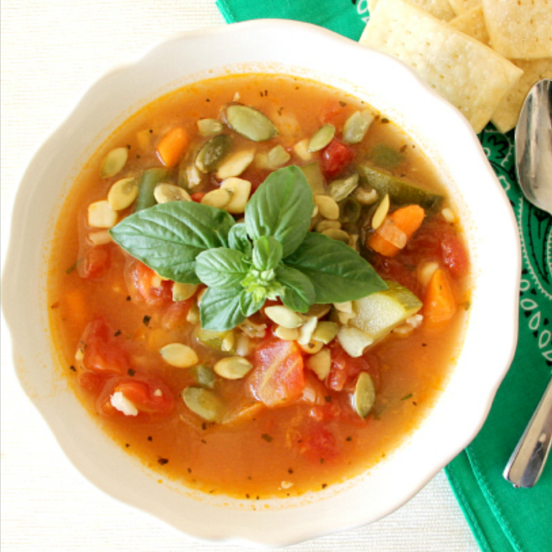 Summer Vegetable Soup: Around My Family Table