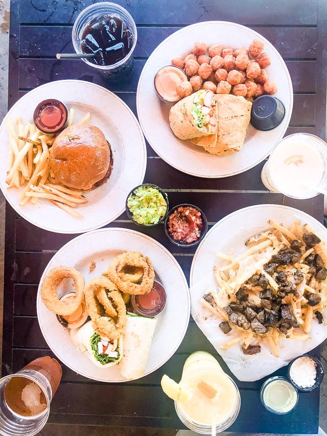 food from Omni resort