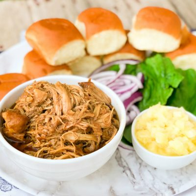 Slow Cooker Teriyaki Chicken Sliders