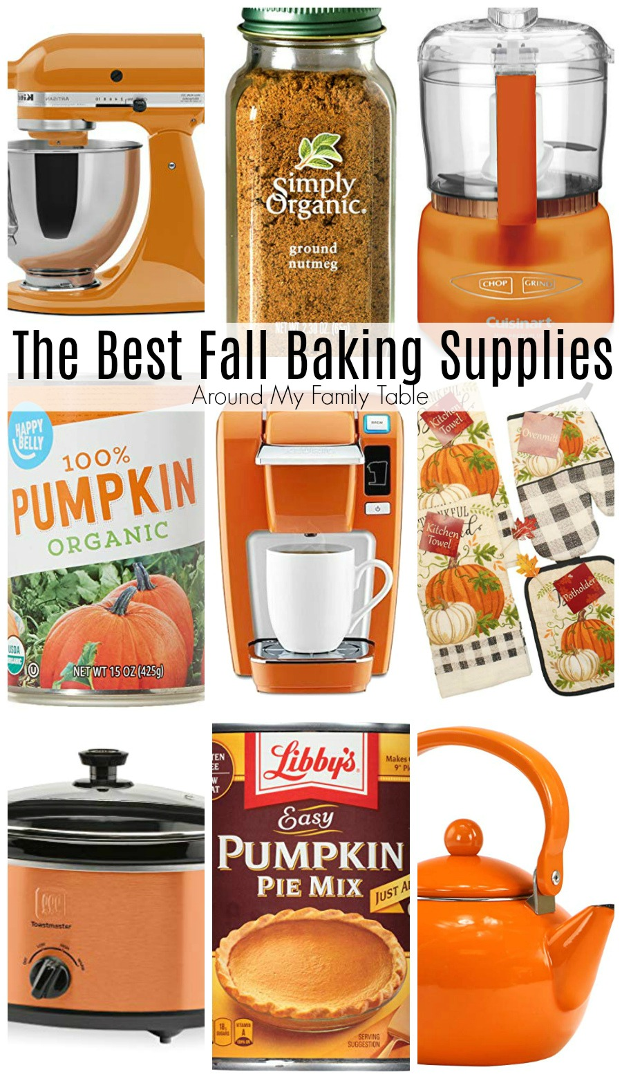 Stock your pantry with the best Fall Baking Supplies. These are my go-to items that I stock up on every year via @slingmama