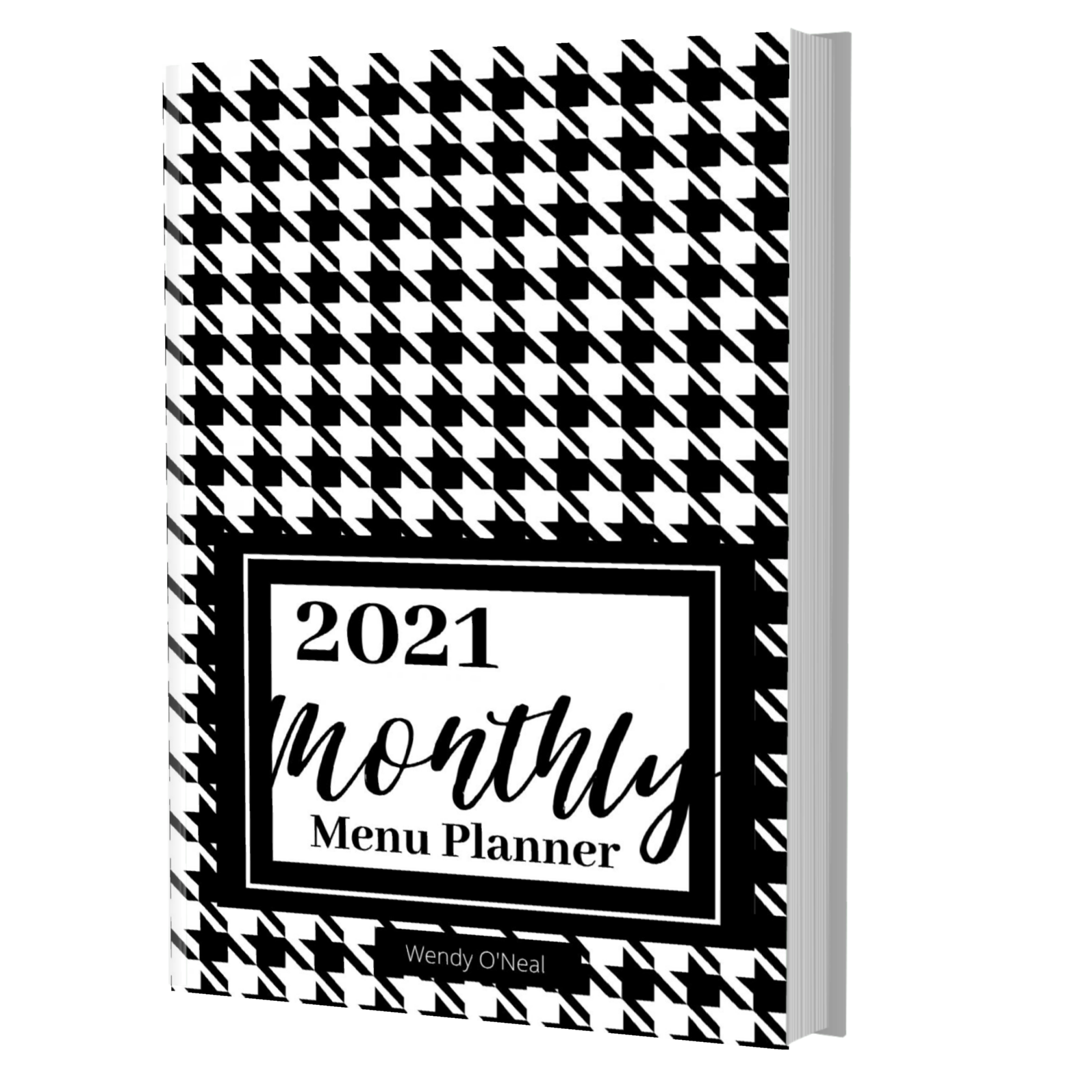 Don't let busy schedules keep you from planning healthy meals for your family.  Get a handle on menu planning, shopping, and recipe list with this black & white 6 x 9 Menu Planner. Order your menu planning journal TODAY. via @slingmama