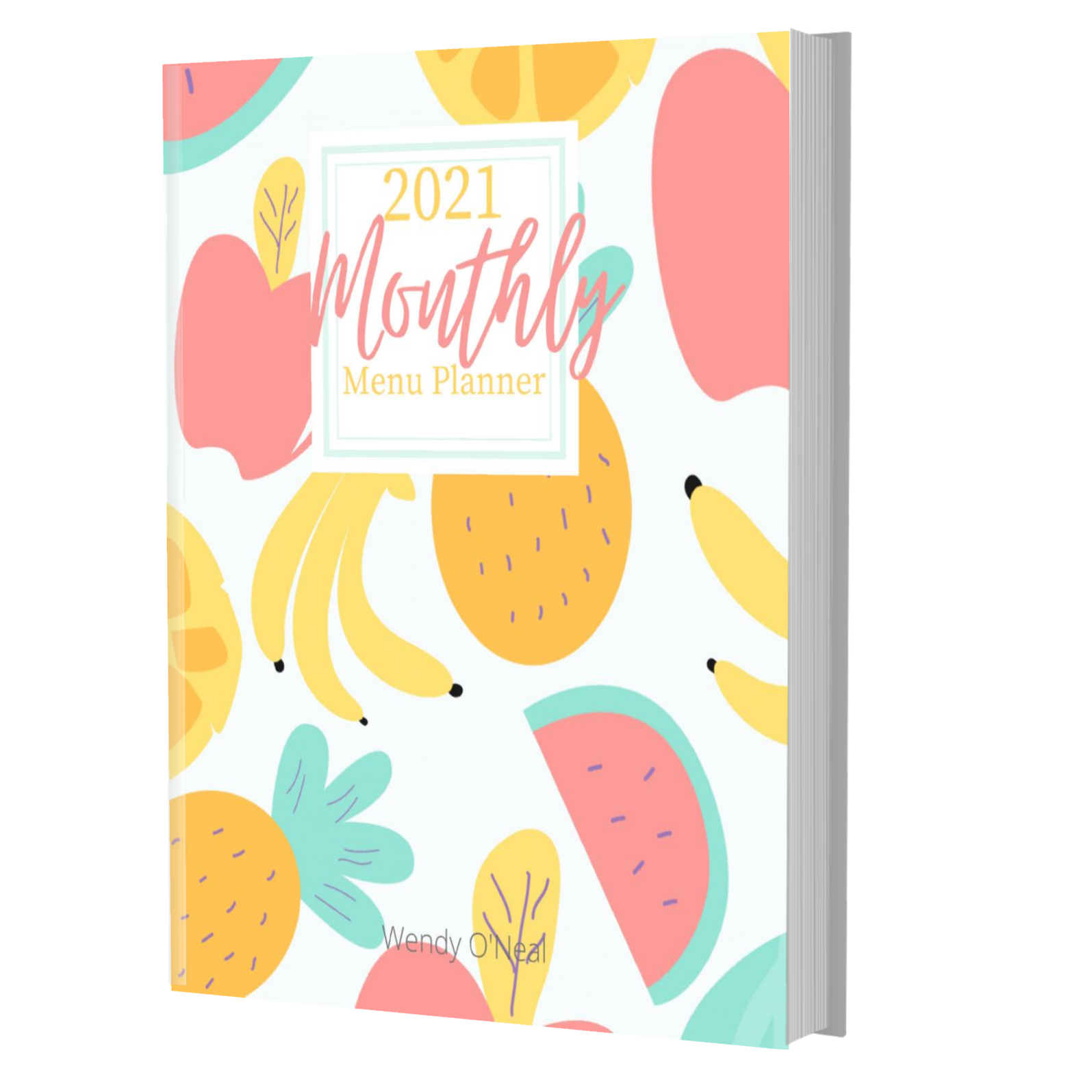 Don't let busy schedules keep you from planning healthy meals for your family.  Get a handle on menu planning, shopping, and recipe list with this colorful 8 1/2 x 11 Menu Planner. Order your menu planning journal TODAY. via @slingmama