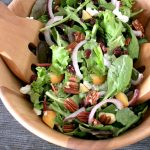 Crunchy Fall Salad with Pumpkin Vinaigrette
