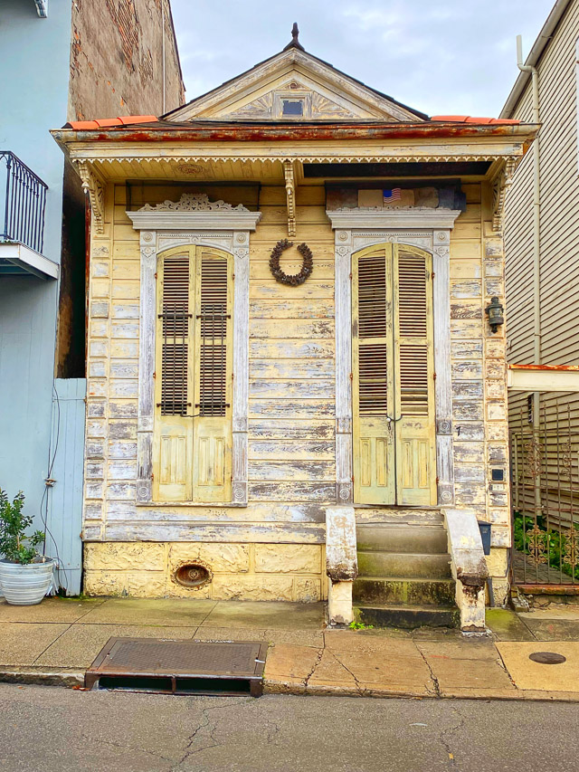 old house in the French Quarter of New Orleans