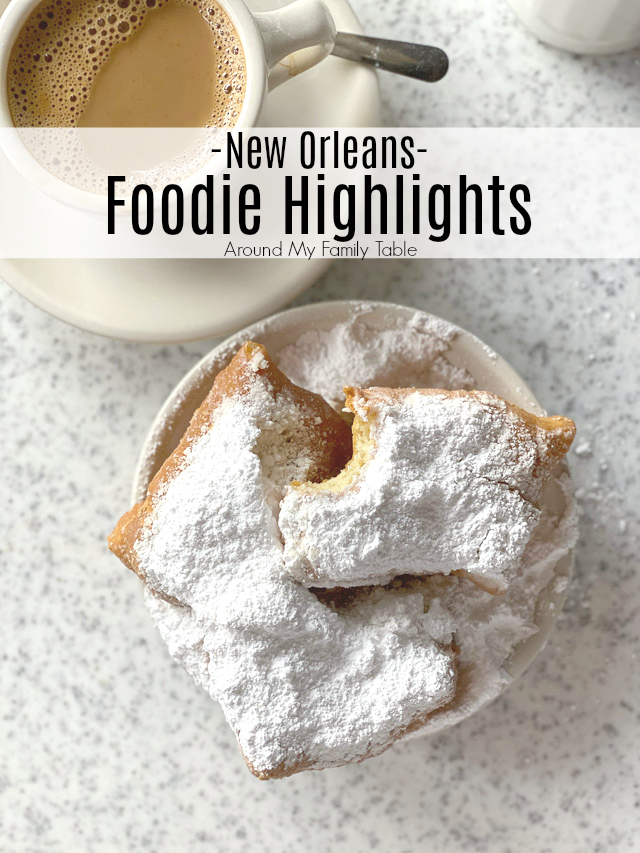 New Orleans Food Highlights -- New Orleans has a ton of amazing food so I created my own New Orleans food tour, mostly in the French Quarter and I'm excited to share everything with y'all. via @slingmama