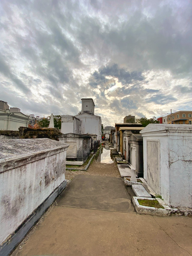 St Louis Cemetery 1 in New Orleans
