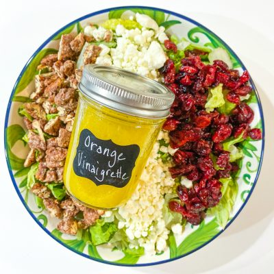 Cranberry, Goat Cheese & Pecan Salad