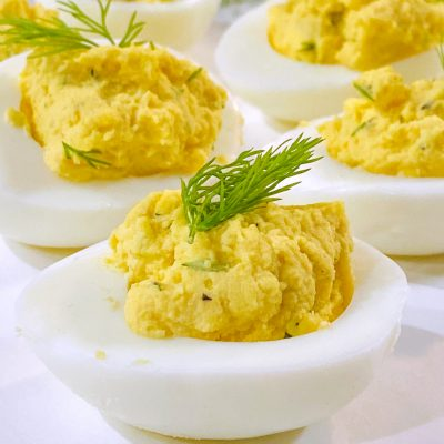 Dilled Deviled Eggs
