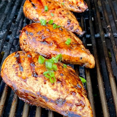 Grilled Balsamic Marinated Chicken