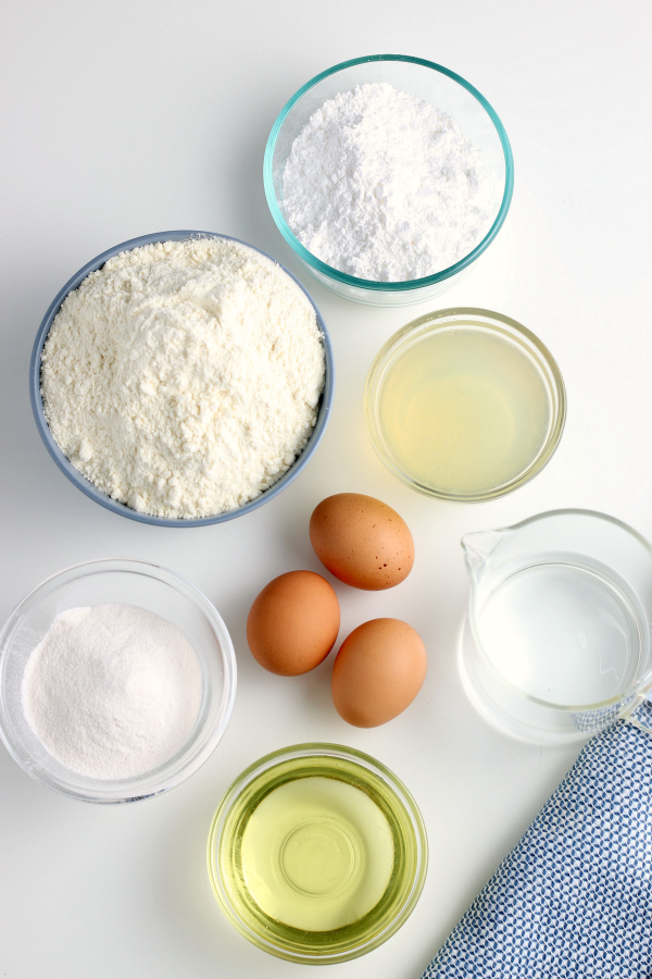 Lemonade Cake ingredients