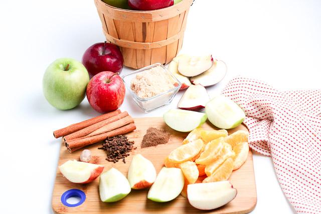 ingredients for sugar free apple cider